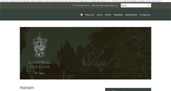 Preview of campbellcollege.co.uk